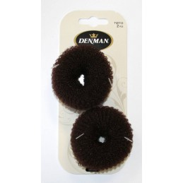 2pc Mini Bun Ring Brown *NEW*